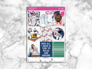 Lazy Time Ultimate Kit || [MATTE] - CinderellaPaper