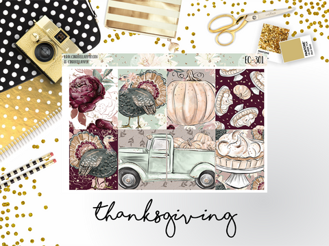 Thanksgiving Ultimate Kit || EC-301 - CinderellaPaper