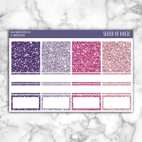 Seeker of Magic || Glitter Headers - CinderellaPaper