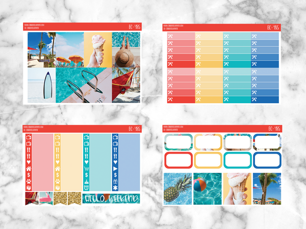 Summer Fun Utimate  Kit - CinderellaPaper