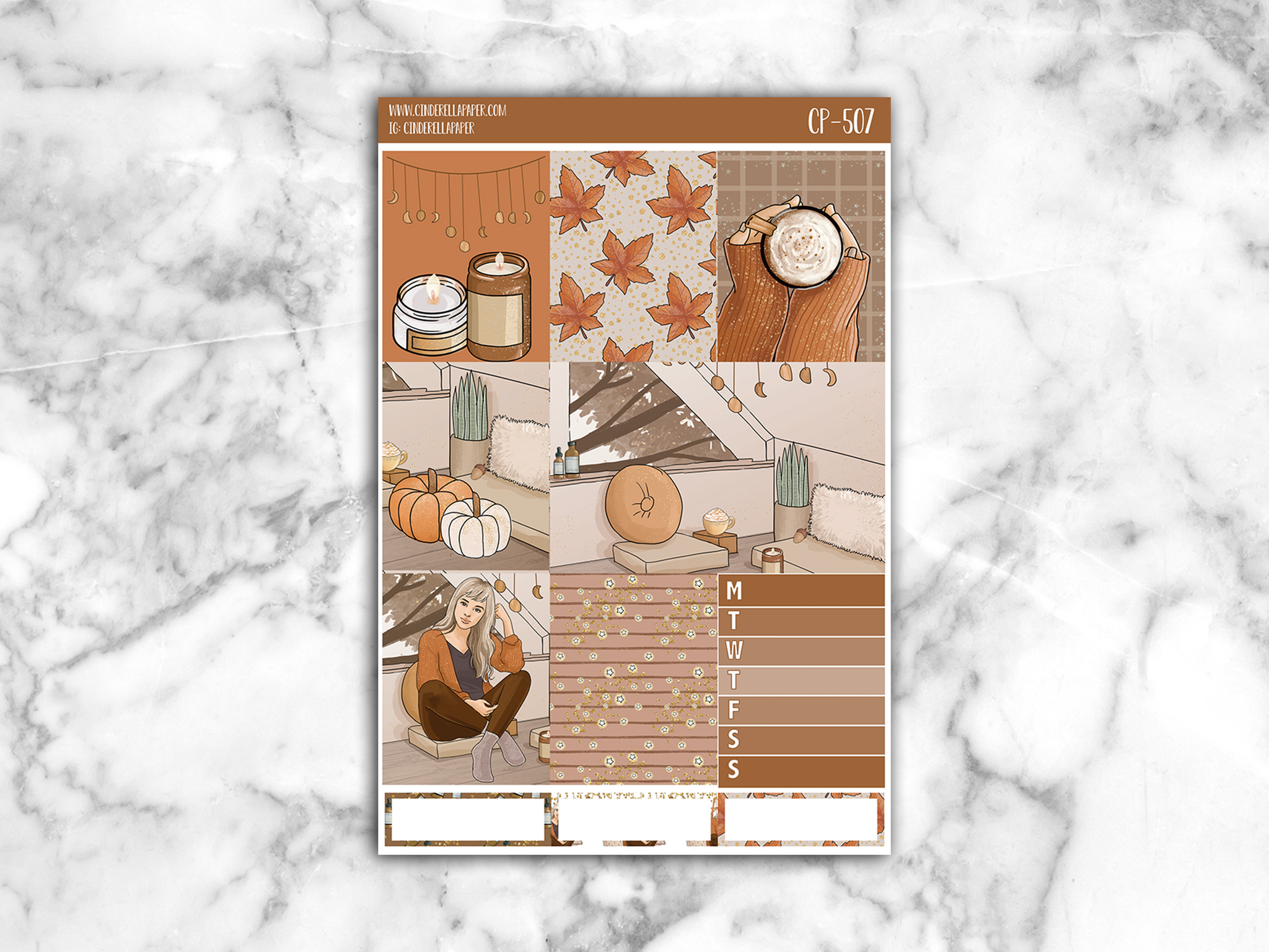 Autumn Ultimate Kit - CinderellaPaper