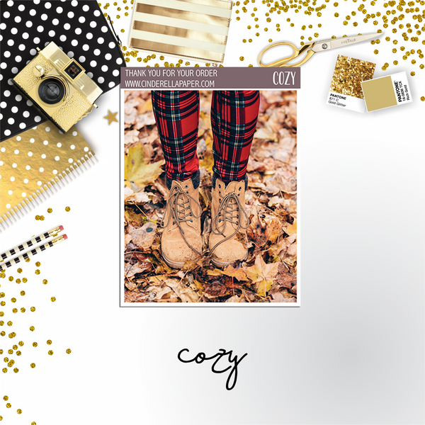 Cozy Ultimate Kit || PHOTO KIT - CinderellaPaper
