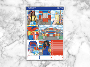 Circus Mini Kit || CPM-538 - CinderellaPaper