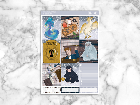 Fantastic Beast Mini Kit || CPM-315 - CinderellaPaper