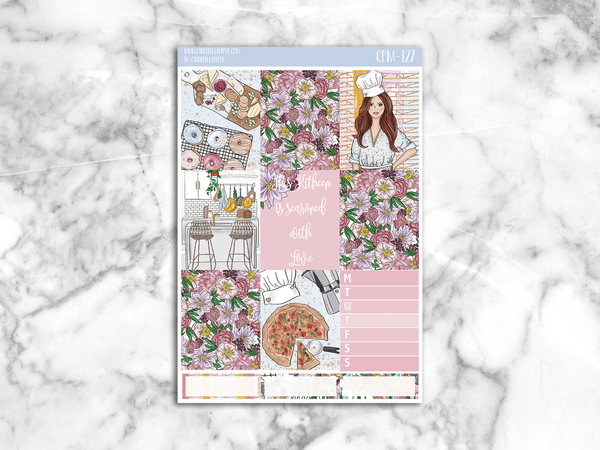 Kitchenette Mini Kit || CPM-127 [GLOSSY] - CinderellaPaper