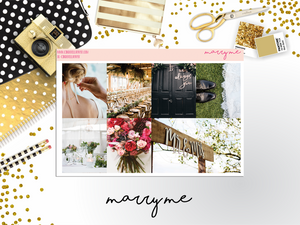 Marry Me Ultimate Kit || PHOTO KIT - CinderellaPaper