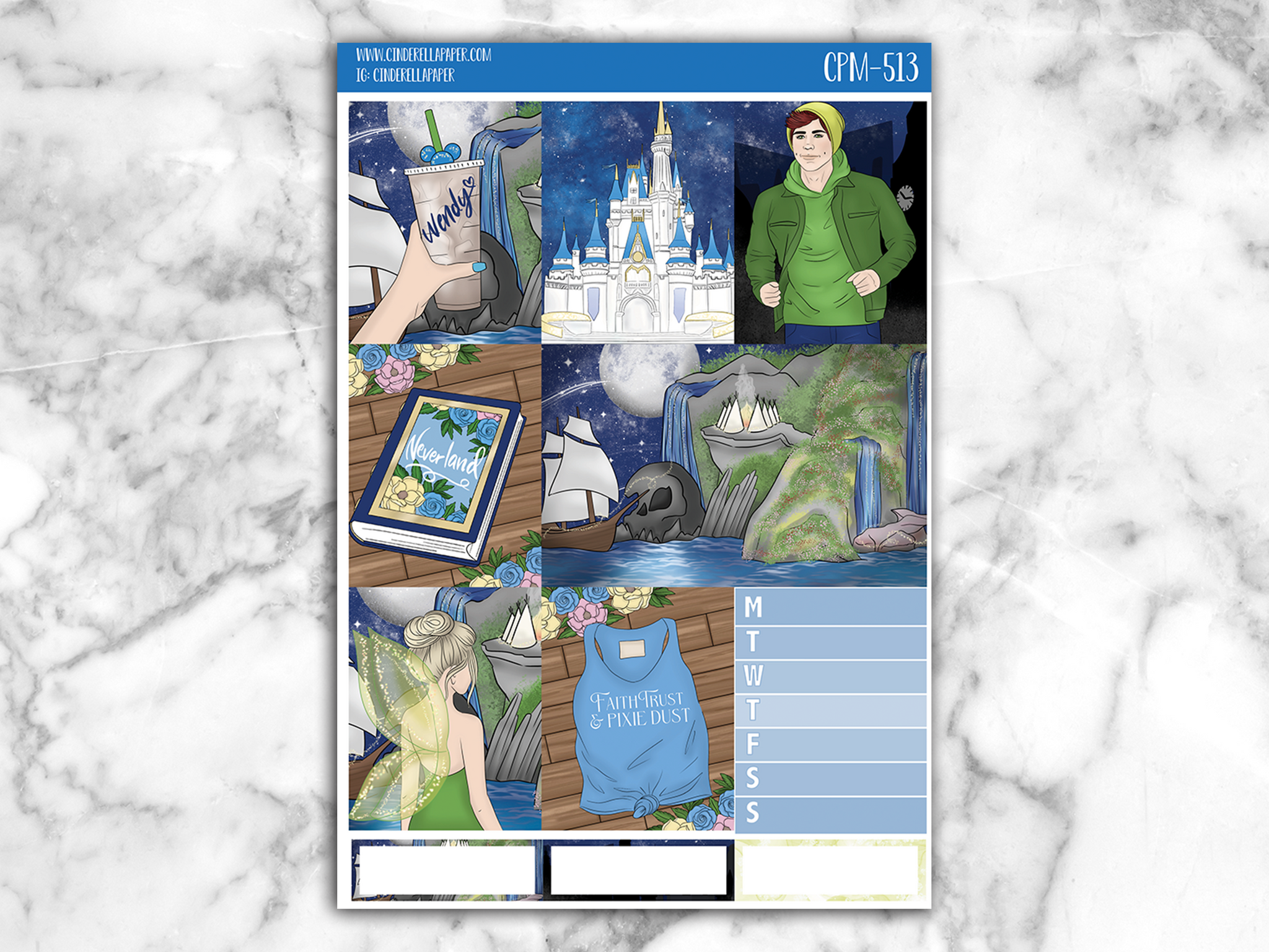 Neverland Mini Kit - CinderellaPaper