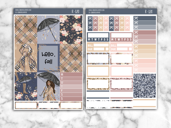 Hello,Fall Essential Kit || R-120 - CinderellaPaper