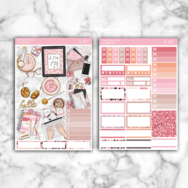 Blogging Essential Kit || R-264 - CinderellaPaper