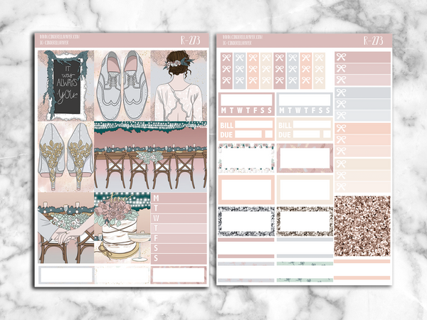 Hitched Essential Kit || R-273 - CinderellaPaper