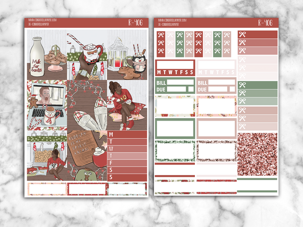 Christmas Time Essential Kit || R-406 - CinderellaPaper