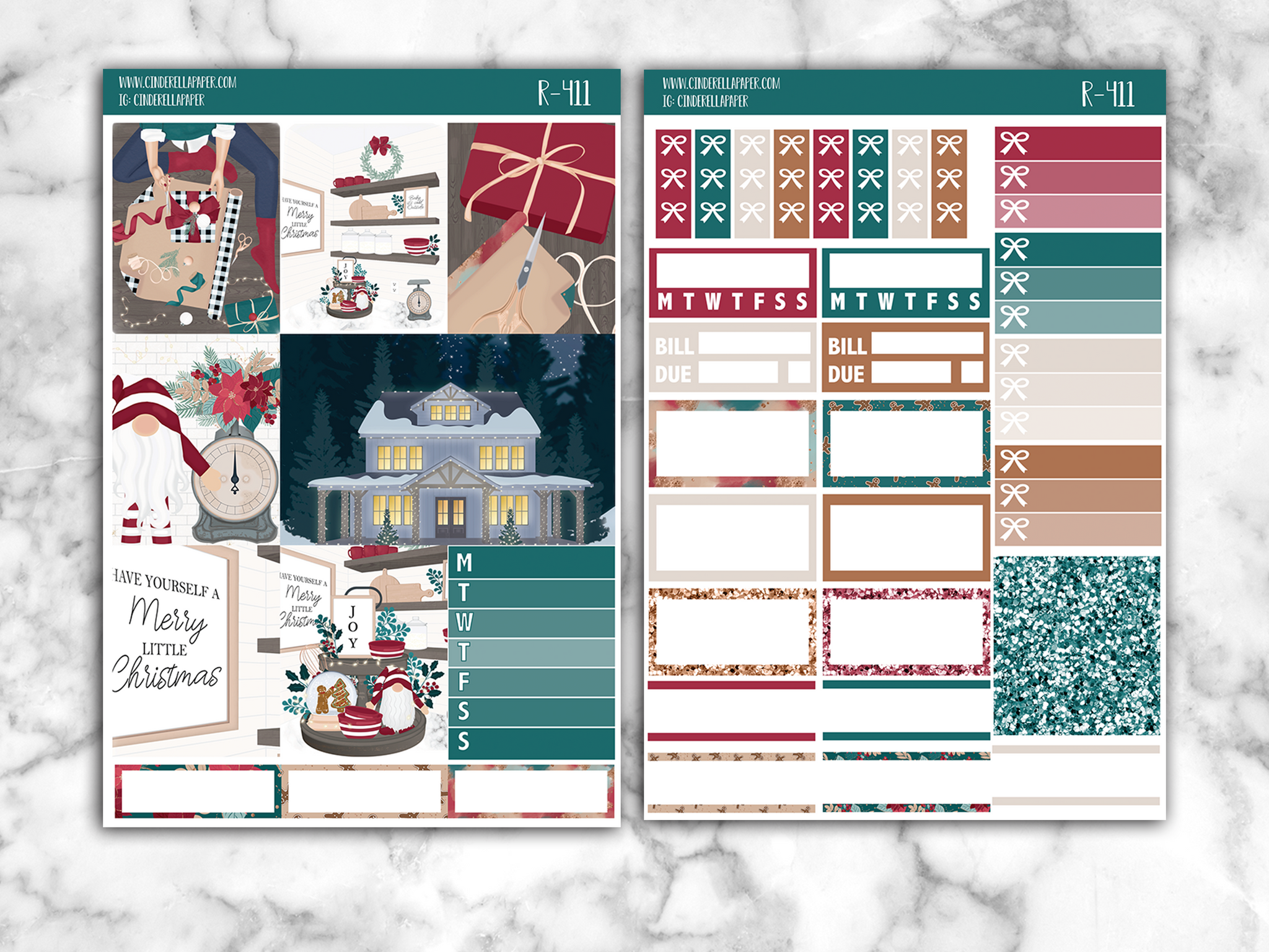 Jolly Christmas Essential Kit || R-411 - CinderellaPaper