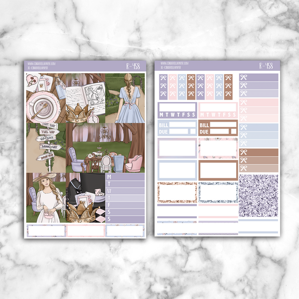 Alice Essential Kit || R-458 - CinderellaPaper