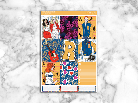 Riverdale Mini Kit || CPM-214 [MATTE] - CinderellaPaper
