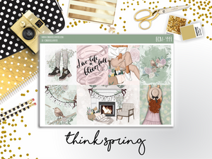 Think Spring Mini Kit - CinderellaPaper