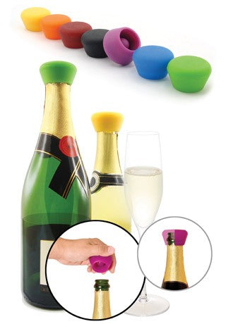 Pulltex Silicone Wine Stoppers 2pc