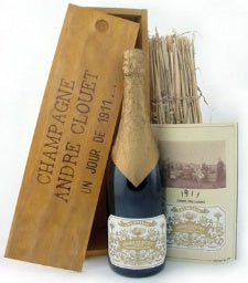 Andre Clouet Champagne '1911' NV (Wooden Gift Box)
