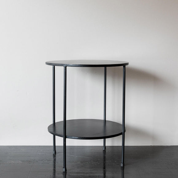Black Iron Side Table
