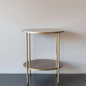 Iron Side Table