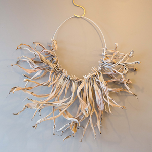 Dried Agave wreath