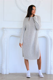 Oversized knit dress - Roseuniquestyle.
