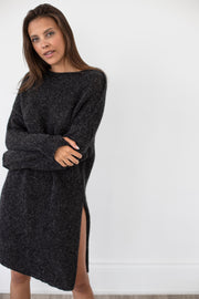 Oversized Alpaca Knit Dress.