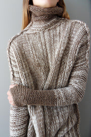 Handmade  Chunky knit sweater. - RoseUniqueStyle