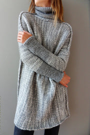 Oversized  Alpaca Chunky knit sweater. - RoseUniqueStyle