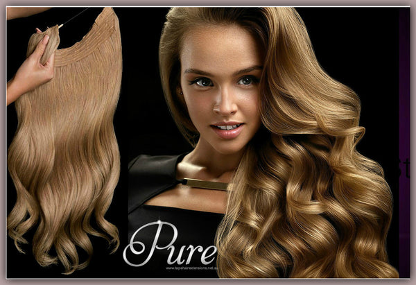 Easy returns and replacements at pure tape hair extensions.