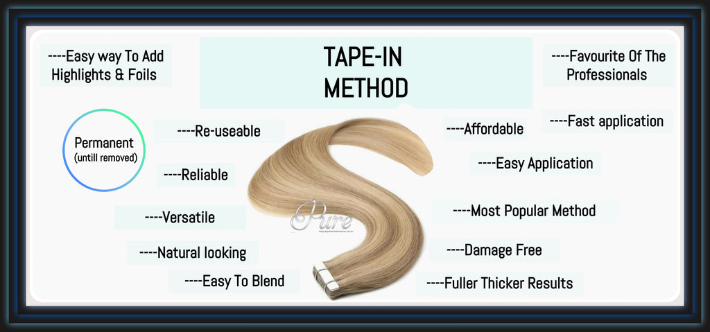 The Best Way To Use Tape-In Hair Extensions