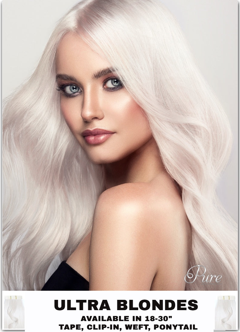 icy blonde hair extensions white blonde hair extension Australia