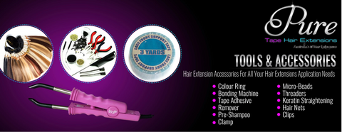 hair extensions accessories and tools