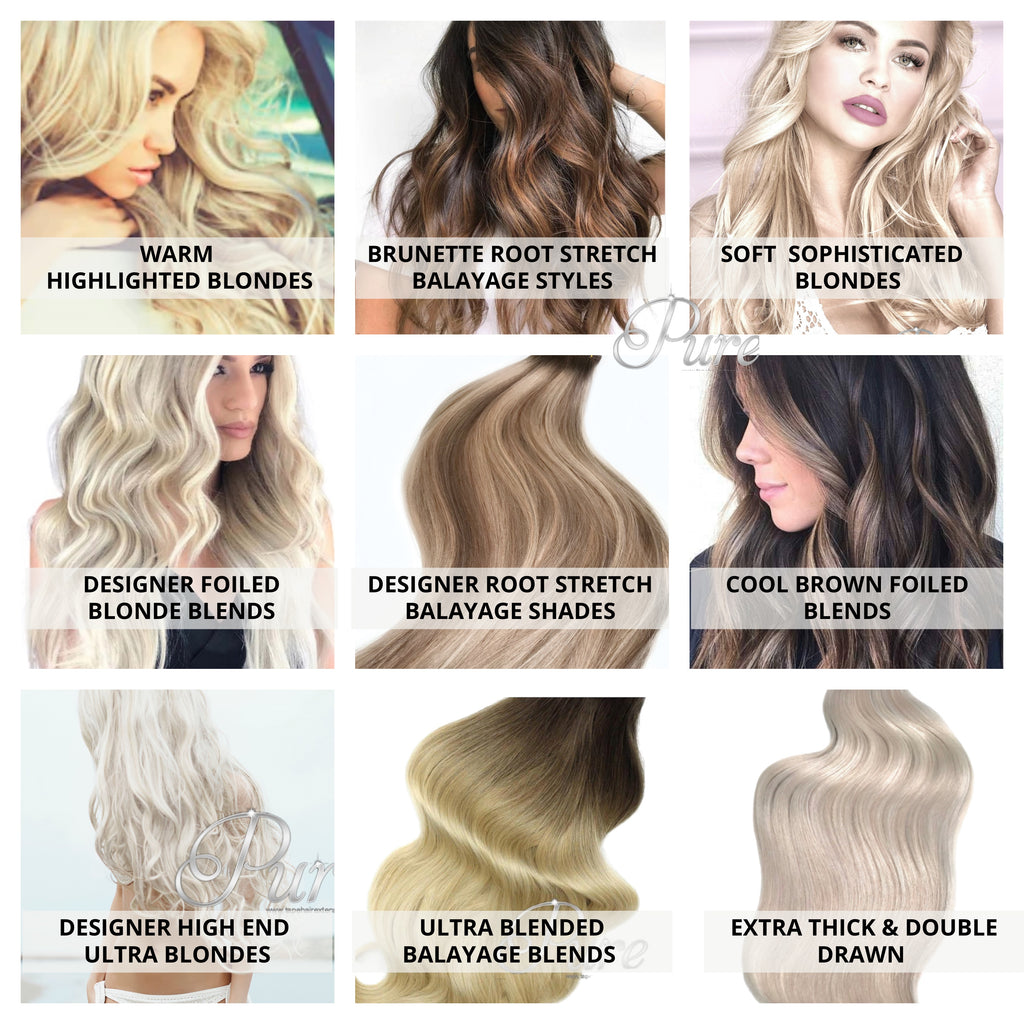 largest range of high quality hair extensions in Australia