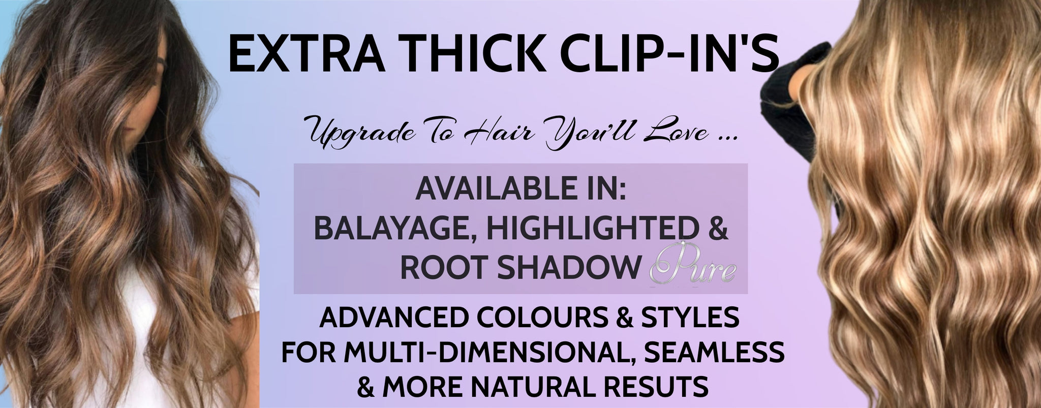 balayage clip in hair extensions ombre clip in hair extensions Australia