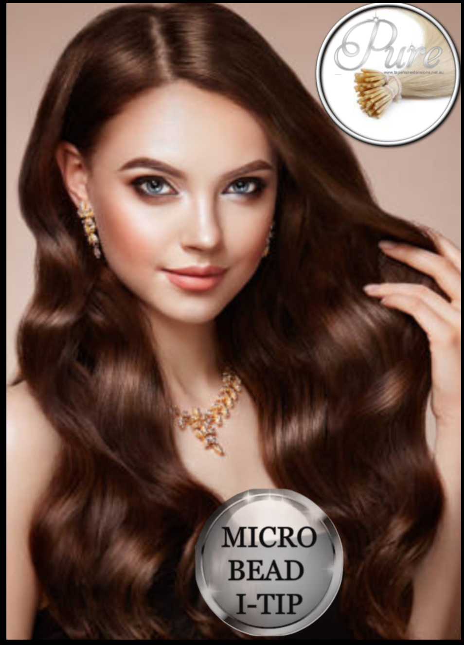 best micro-bead hair extensions, Russian grade micro ring micro bead hair extensions