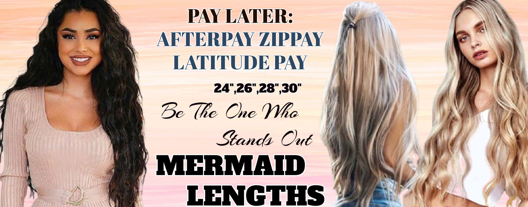 "Very Long best remy Hair extensions 30"" Australia"