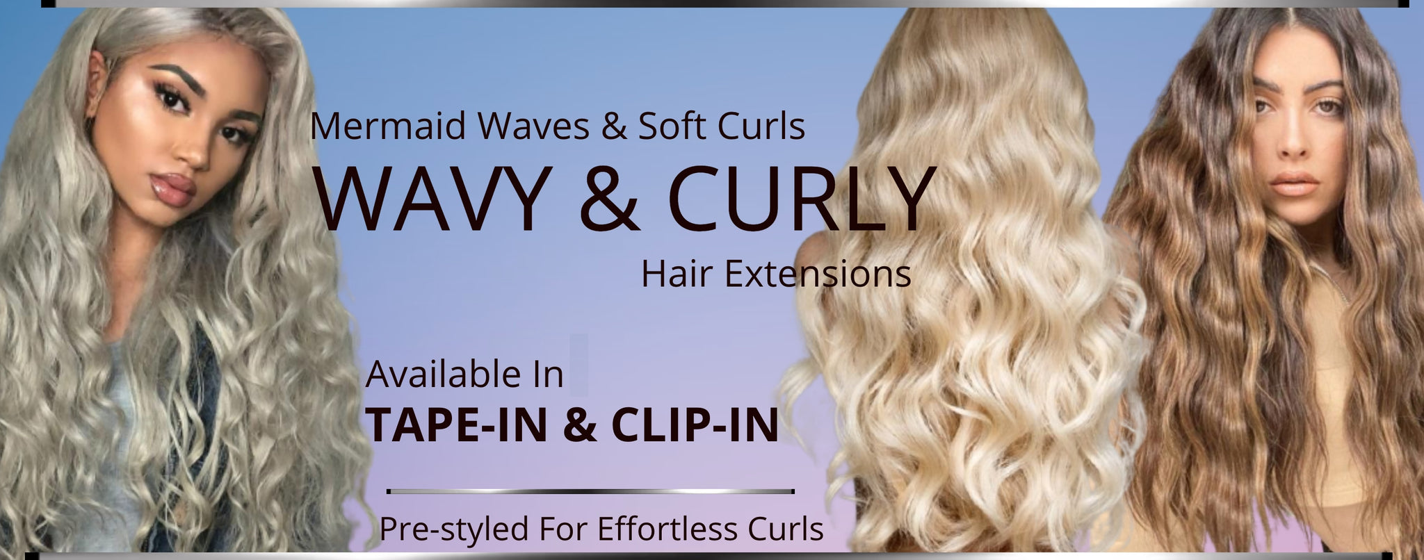 New Wavy skin weft invisible tape hair extensions