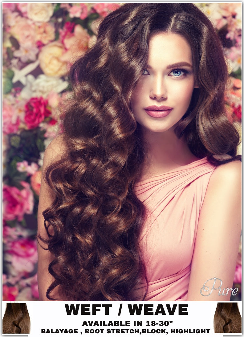 thick hair extensions, remy human hair weft hair extensions Australia