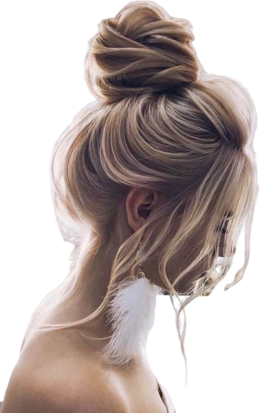 #14/18 - Booster Volume Bun - 100% luxury human hair scrunchie bun - Pure Tape Hair Extensions