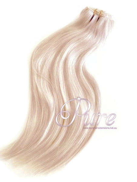 #22 HONEY BLONDE ULTIMATE CLIP-IN HAIR EXTENSIONS - Pure Tape Hair Extensions