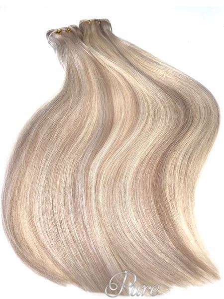 "#22/616 ""PRINCESS"" BLONDE HIGHLIGHT WEFT WEAVE HAIR EXTENSIONS"