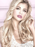 "#22/616 ""PRINCESS"" COOL MEDIUM BLONDE / LIGHT BLONDE FOILED BLEND WEFT WEAVE HAIR EXTENSIONS - Pure Tape Hair Extensions"