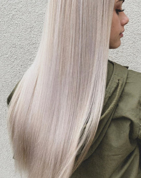 #24 - TAUPE - LIGHT ASH BLONDE - TAPE HAIR EXTENSIONS