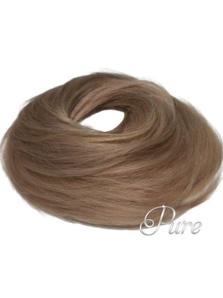 #14/18 - Booster Volume Bun - 100% human hair scrunchie bun - Pure Tape Hair Extensions
