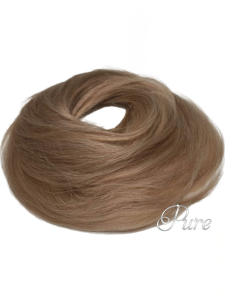 #16- Booster Volume Bun - 100% human hair scrunchie bun - Pure Tape Hair Extensions