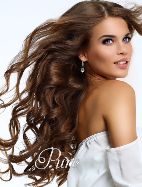 #5 - BRONZE- CHESTNUT BROWN -TAPE HAIR EXTENSIONS - Pure Tape Hair Extensions
