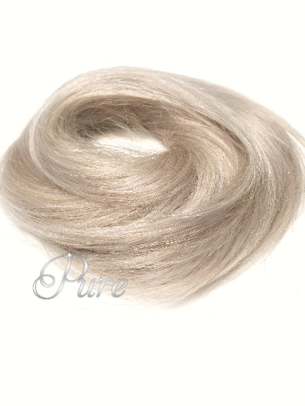 Golden Blonde Mix - Booster Volume Bun - 100% luxury human hair scrunchie bun - Pure Tape Hair Extensions