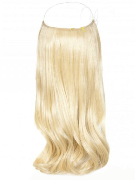 FLIP IN HALO HAIR EXTENSIONS #613 GOLDEN BLONDE