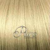 MICRO - BEAD HAIR EXTENSIONS #16 - CARAMEL BLONDE  - WHEAT BLONDE - Pure Tape Hair Extensions