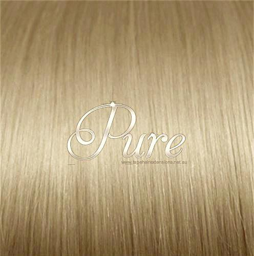 #16 - HONEY BLONDE BLONDE -WEFT / WEAVE LUXURY RUSSIAN GRADE HAIR - Pure Tape Hair Extensions